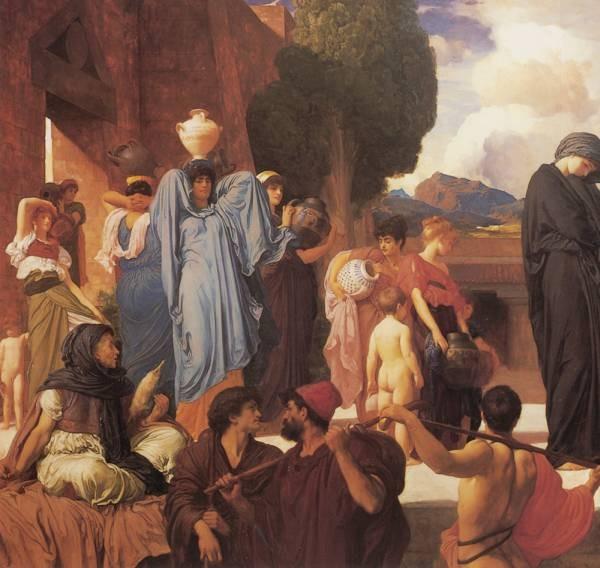 Leighton Captive Andromache left